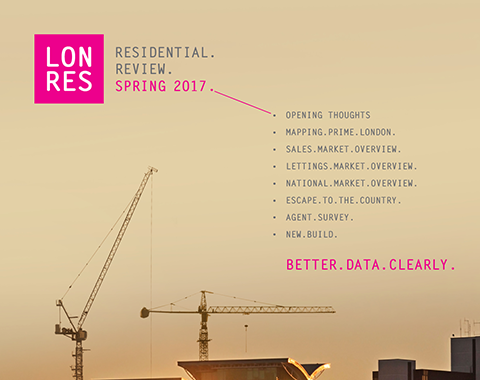 Free download: LonRes Residential Review Spring 2017 - what happened to property prices in London in Q1 2017?