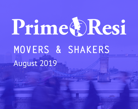 LonRes Movers and Shakers - PrimeResi August 2019 round-up property recruitment London