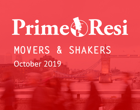 LonRes Movers and Shakers - PrimeResi October 2019 round-up property recruitment London