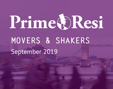LonRes Movers and Shakers - PrimeResi September 2019 round-up property recruitment London