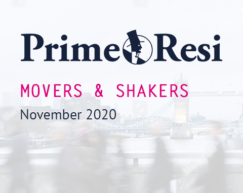 LonRes Movers and Shakers property recruitment round-up from PrimeResi November 2020 resources