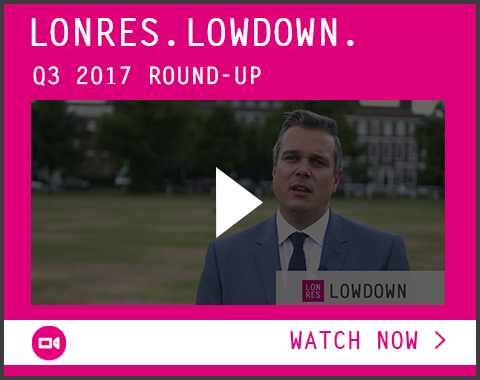 Watch now: LonRes Lowdown - buying, selling and renting in London - Q3 2017 market report