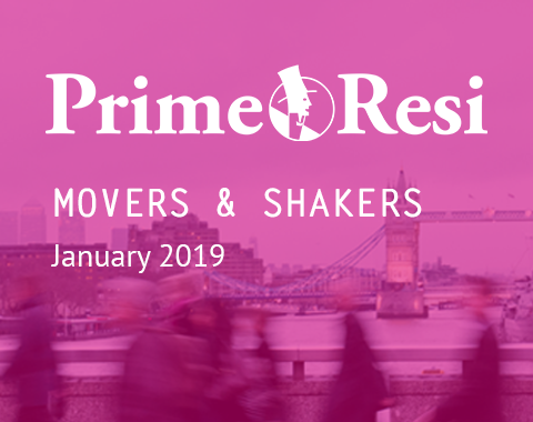LonRes Movers and Shakers - PrimeResi January 2019 round-up