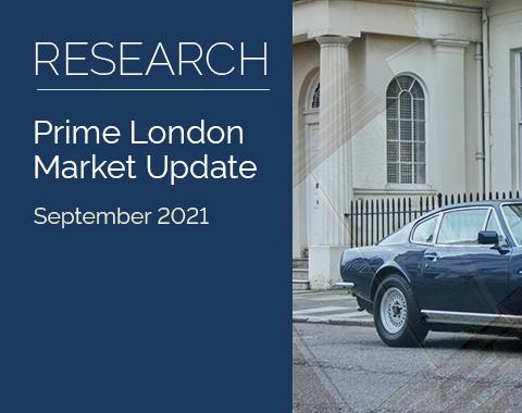 LonRes research: Prime London Market Update - September 2021 residential property market