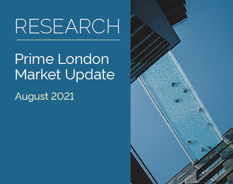 LonRes research: Prime London Market Update - August 2021 residential property market