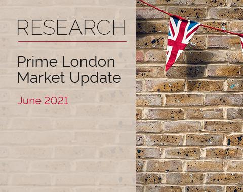 LonRes research: Prime London Market Update - June 2021 residential property market