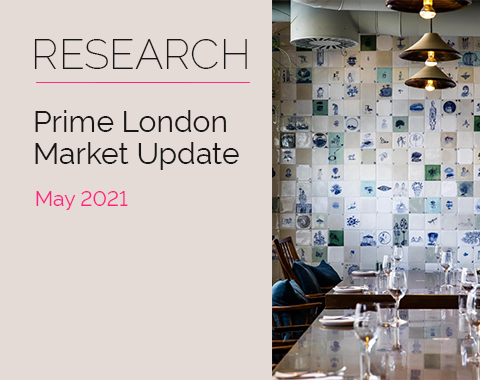 LonRes research: Prime London Market Update - May 2021 residential property market