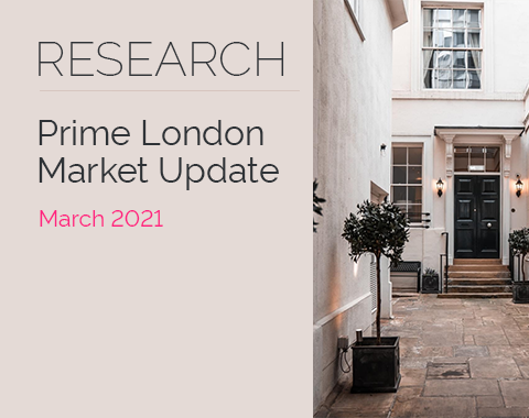 LonRes research: Prime London Market Update - March 2021 residential property market