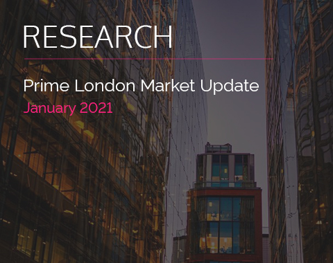 LonRes research: Prime London Market Update - January 2021 residential property market