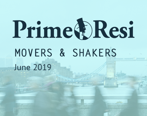 LonRes Movers and Shakers - PrimeResi June 2019 round-up property recruitment London