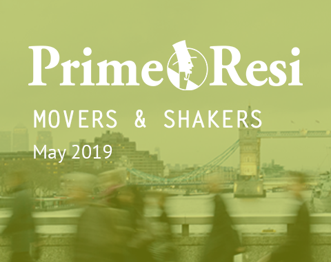 LonRes Movers & Shakers May 2019 round-up from PrimeResi - jobs in property and recruitment moves