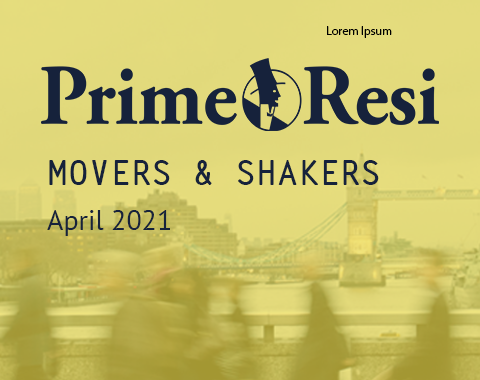 LonRes Movers and Shakers property recruitment round-up from PrimeResi April 2021 resources