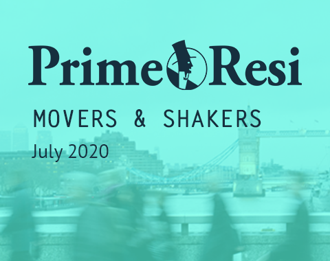 LonRes Movers and Shakers property recruitment round up from PrimeResi July 2020 resources