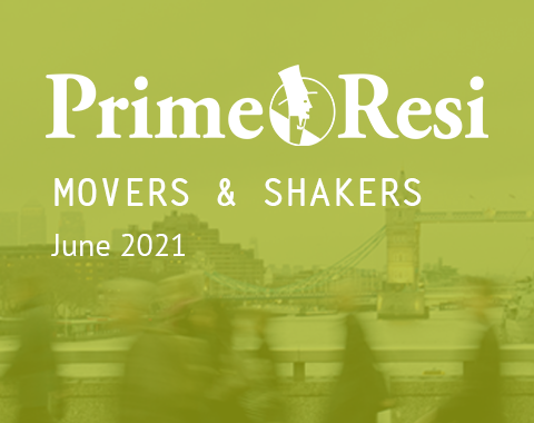 LonRes Movers and Shakers property recruitment round-up from PrimeResi June 2021 resources