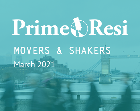 LonRes Movers and Shakers property recruitment round-up from PrimeResi March 2021 resources