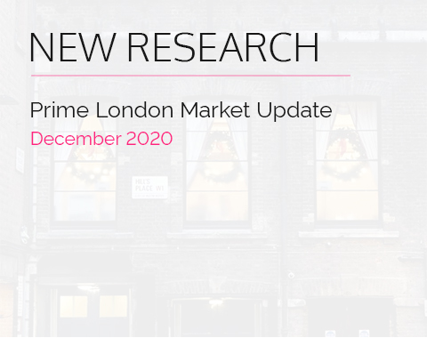 LonRes research: Prime London Market Update - December 2020 residential property market