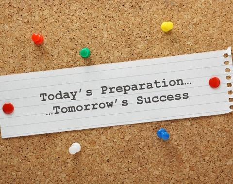 Today's Preparation..Tomorrow's Success