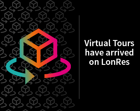Property Virtual Tours in 3D have arrived on LonRes property portal